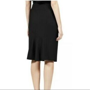 REISS Tara Black Tailored Wool Pencil Skirt Size 4